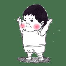 Baby Ayu's daily life sticker #4365395
