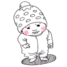 Baby Ayu's daily life sticker #4365401