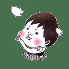 Baby Ayu's daily life sticker #4365402