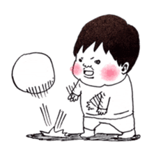 Baby Ayu's daily life sticker #4365403