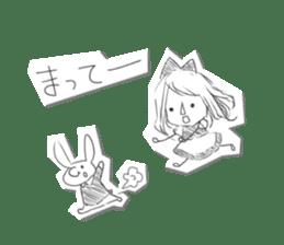 Alice in Sketch land sticker #4368908