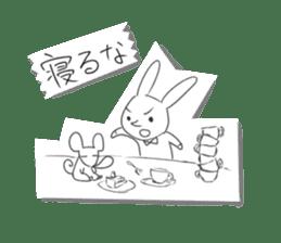 Alice in Sketch land sticker #4368921