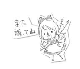 Alice in Sketch land sticker #4368923