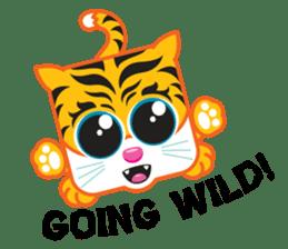 Squaredy Cats sticker #4380064