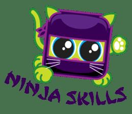 Squaredy Cats sticker #4380065