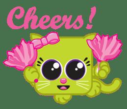 Squaredy Cats sticker #4380066