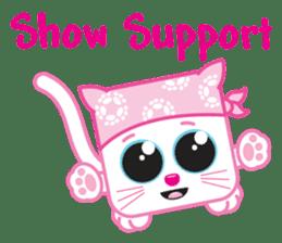 Squaredy Cats sticker #4380070