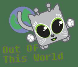 Squaredy Cats sticker #4380073
