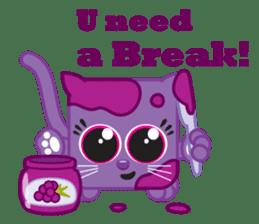 Squaredy Cats sticker #4380079