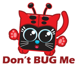 Squaredy Cats sticker #4380085