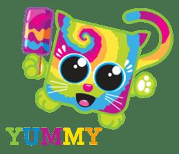 Squaredy Cats sticker #4380088