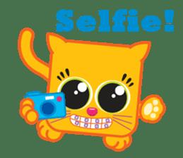 Squaredy Cats sticker #4380089