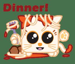 Squaredy Cats sticker #4380093