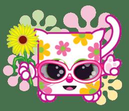 Squaredy Cats sticker #4380095