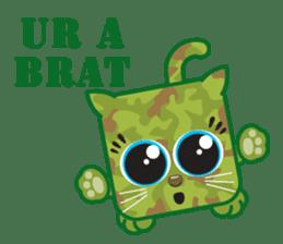 Squaredy Cats sticker #4380098