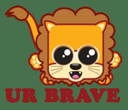 Squaredy Cats sticker #4380099