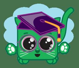 Squaredy Cats sticker #4380102