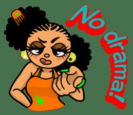 B-girlSticker [English] sticker #4382550