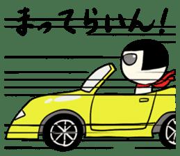 Japanese kokeshi doll sticker for life sticker #4383993