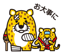 Chibi-istu Animal's family Sticker sticker #4387554