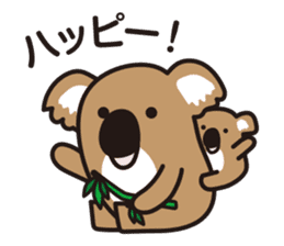 Chibi-istu Animal's family Sticker sticker #4387556