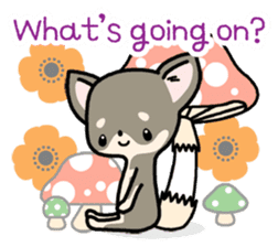 Kawaii Chihuahua2(English) sticker #4391001