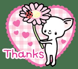 Kawaii Chihuahua2(English) sticker #4391002