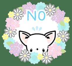 Kawaii Chihuahua2(English) sticker #4391007