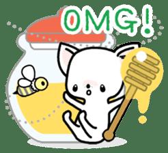 Kawaii Chihuahua2(English) sticker #4391010