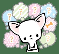 Kawaii Chihuahua2(English) sticker #4391016