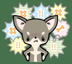 Kawaii Chihuahua2(English) sticker #4391017