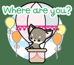 Kawaii Chihuahua2(English) sticker #4391020