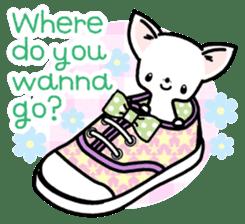 Kawaii Chihuahua2(English) sticker #4391024
