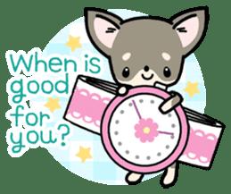 Kawaii Chihuahua2(English) sticker #4391025