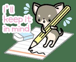 Kawaii Chihuahua2(English) sticker #4391027