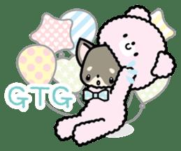 Kawaii Chihuahua2(English) sticker #4391028