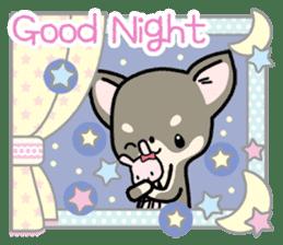 Kawaii Chihuahua2(English) sticker #4391032