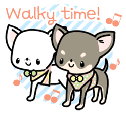 Kawaii Chihuahua2(English) sticker #4391035