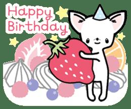 Kawaii Chihuahua2(English) sticker #4391036