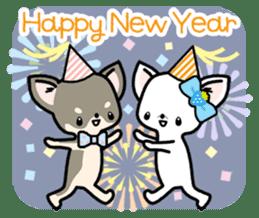 Kawaii Chihuahua2(English) sticker #4391038