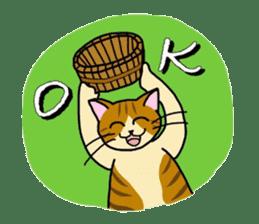 """OK"" Cats(English ver.) sticker #4395143"