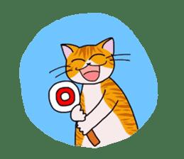 """OK"" Cats(English ver.) sticker #4395164"