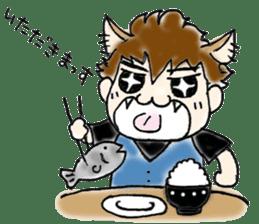 Cat craftsman sticker #4395458