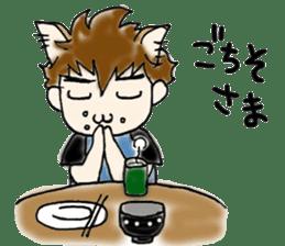Cat craftsman sticker #4395459
