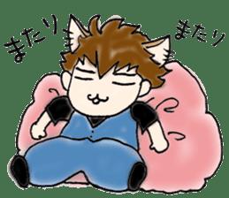 Cat craftsman sticker #4395460