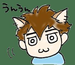 Cat craftsman sticker #4395463