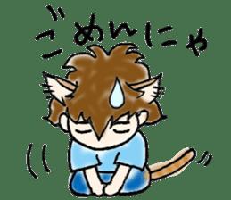 Cat craftsman sticker #4395474
