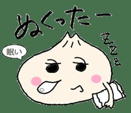 Nikuman-kun talking Finnish sticker #4398670