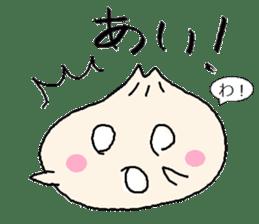 Nikuman-kun talking Finnish sticker #4398671