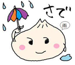 Nikuman-kun talking Finnish sticker #4398676